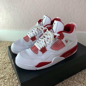 Jordan 4 Alternate 89 Red White